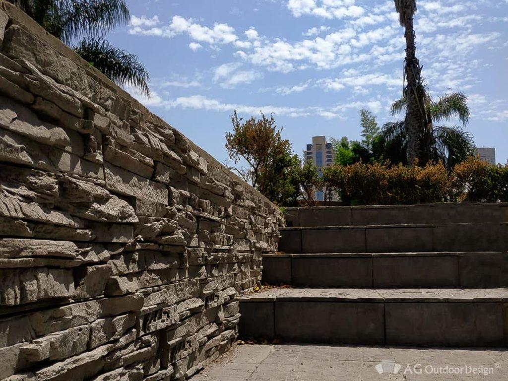 Cerco Ecologico simil piedra Pirca AGOD • AG Outdoor Design