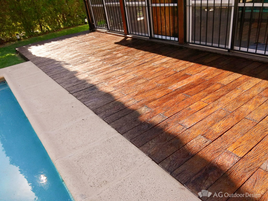 Colocacion simple Deck Lapacho AGOD • AG Outdoor Design