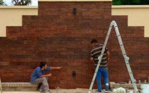 Colocando Quebrachos AG Outdoor Design • AG Outdoor Design