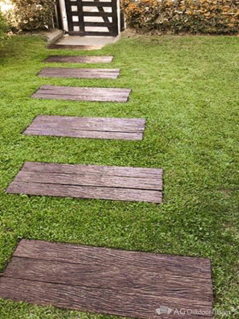 Construir camino en jardin Lapacho AGOD • AG Outdoor Design