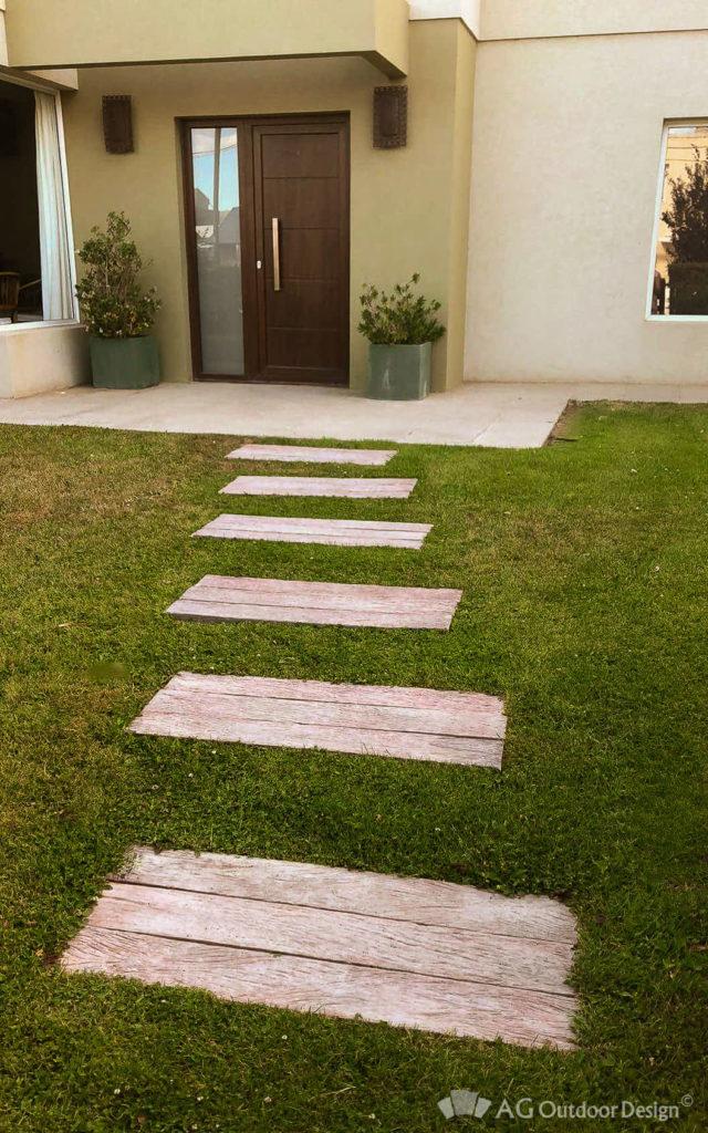 Durmientes de concreto Lapacho AGOD • AG Outdoor Design