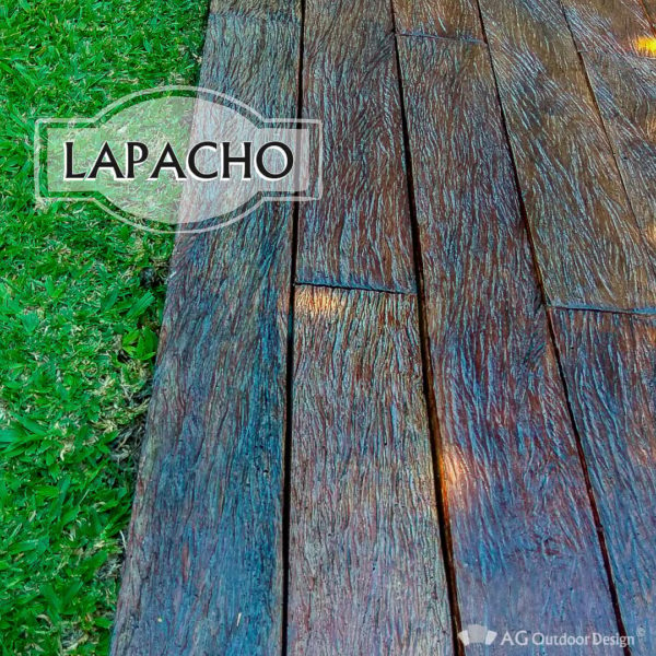 Decks y Durmientes ⋆ LAPACHO DECK ⋆ AG Outdoor Design