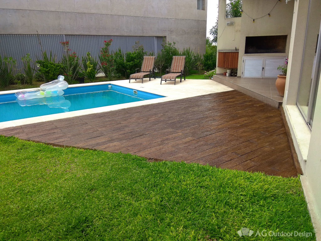 Lapacho Deck en piscina AG Outdoor Design • AG Outdoor Design