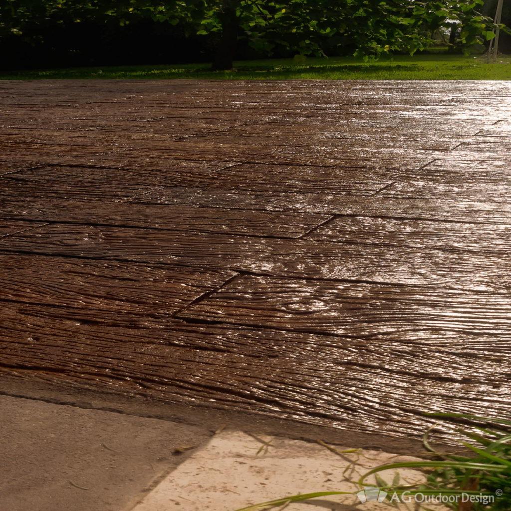 Pisos exteriores simil madera Quebracho AGOD • AG Outdoor Design