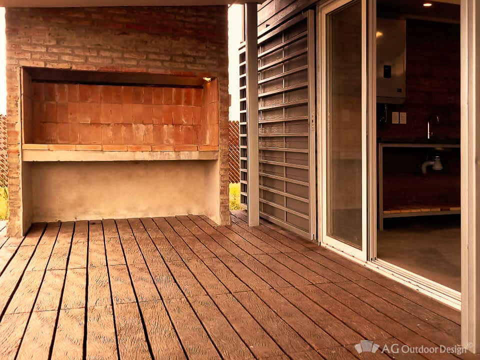 Quincho y parrillero con Lapacho AGOD • AG Outdoor Design