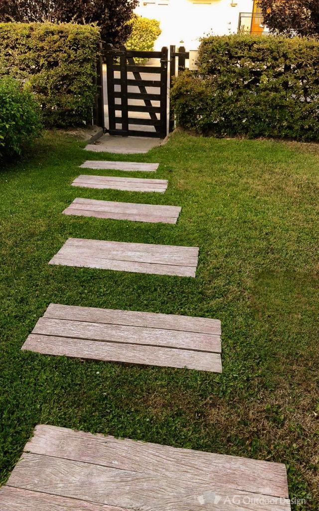 Tablas cemento para exterior Lapacho AGOD • AG Outdoor Design