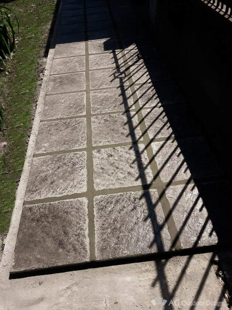 Vereda en Rosario con Baldosa San Juan AGOD • AG Outdoor Design